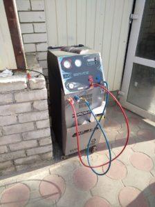 Заправочная станция для кондиционеров